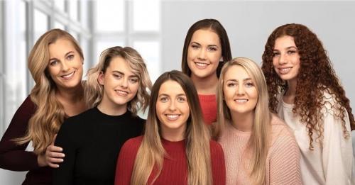 Girls group photo OKeeffeOrtho
