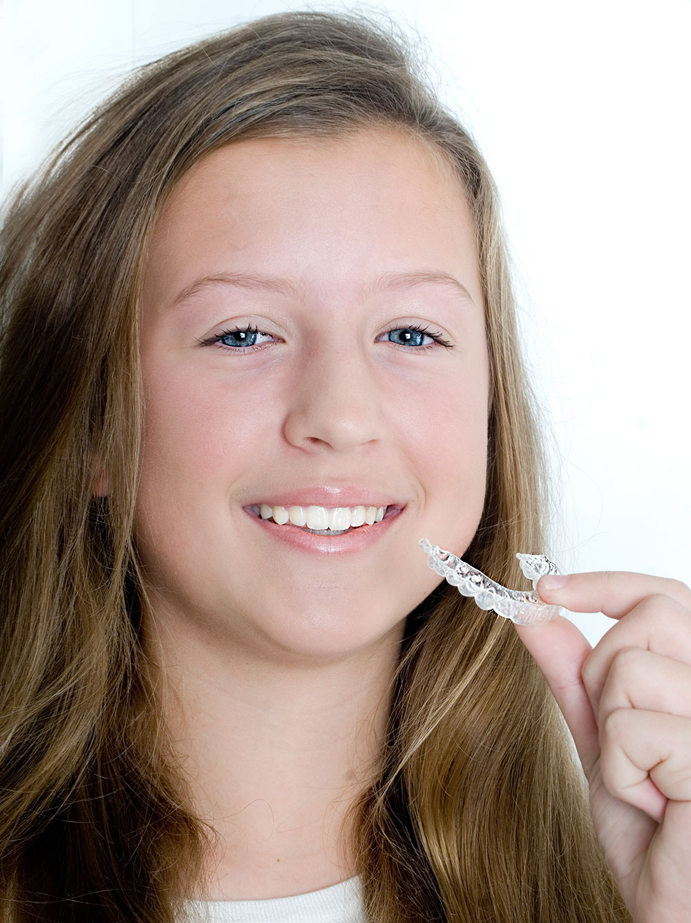O'Keeffe Orthodontics Smile and retainer