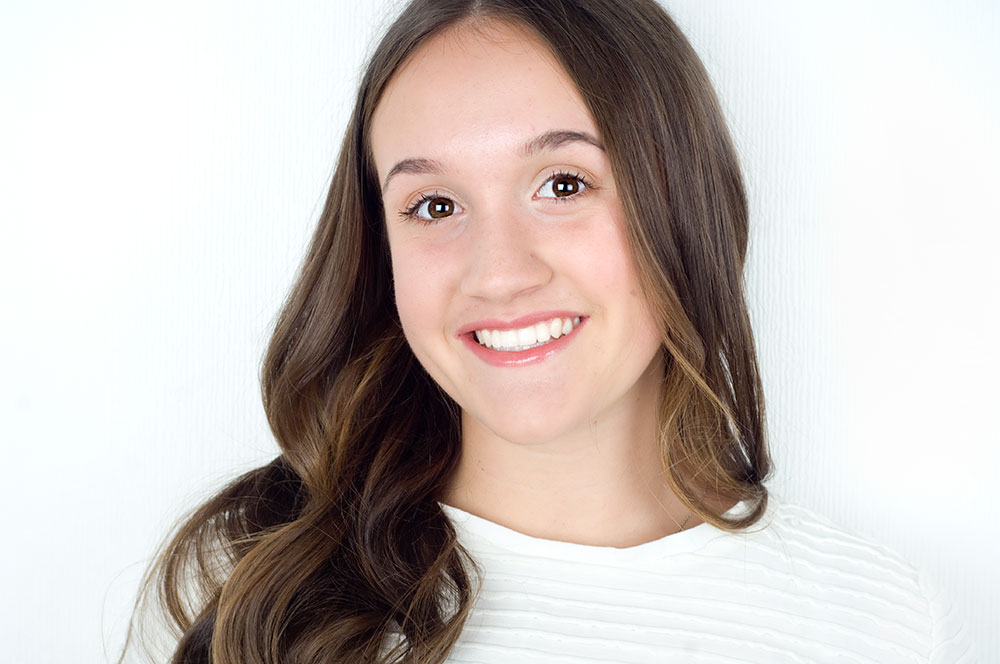 Young Girl O'Keeffe Orthodontic Smiles
