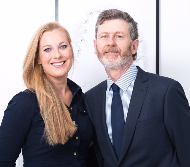 Dr Mary O'Keeffe and Dr Con O'Keeffe, Orthodontists
